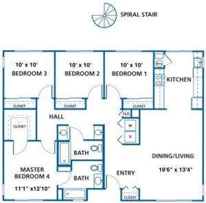 4 bedroom rentals in Davis, CA