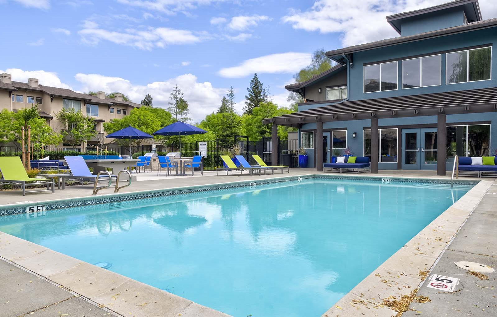 Enjoy a swim living at Octave | Davis, CA