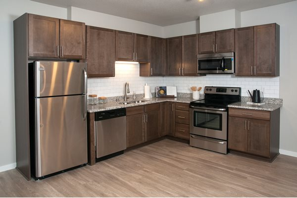 Stainless Steel Appliances at The Parkway Off Central, Blaine, Minnesota