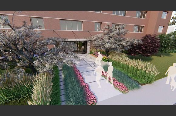 Whispering Oaks Entrance rendering