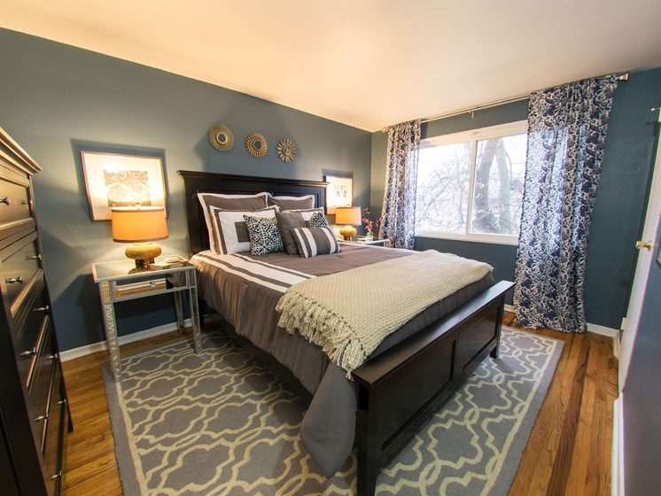 Bedroom Pangea Park Townhomes