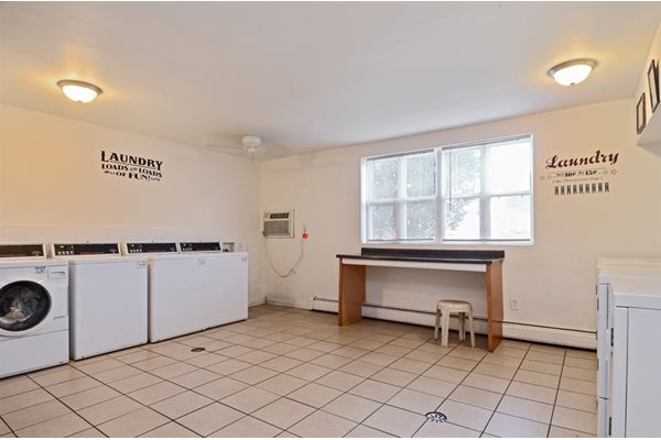 Laundry in Pangea Courts Apartments