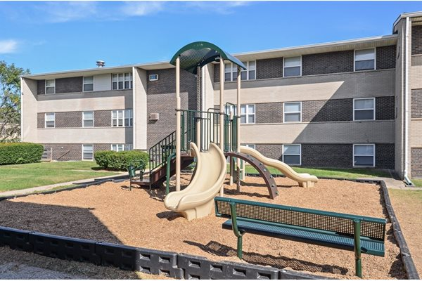 Playground at Pangea Courts Apartments