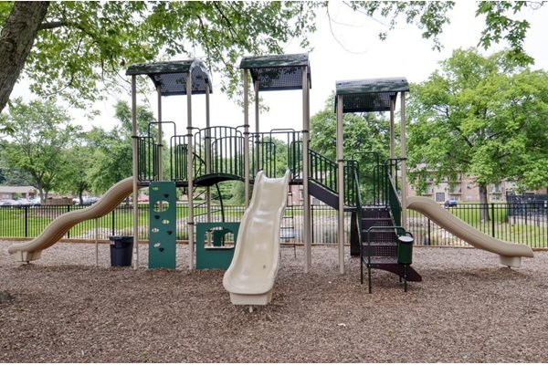 Pangea Groves in Indianapolis has amenities like this playground.