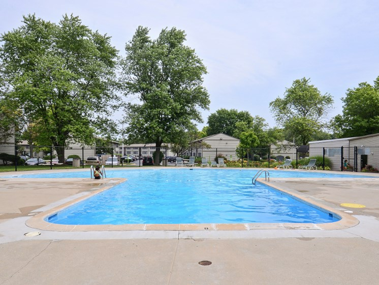 Pangea Hills Apartments Indianapolis Pool