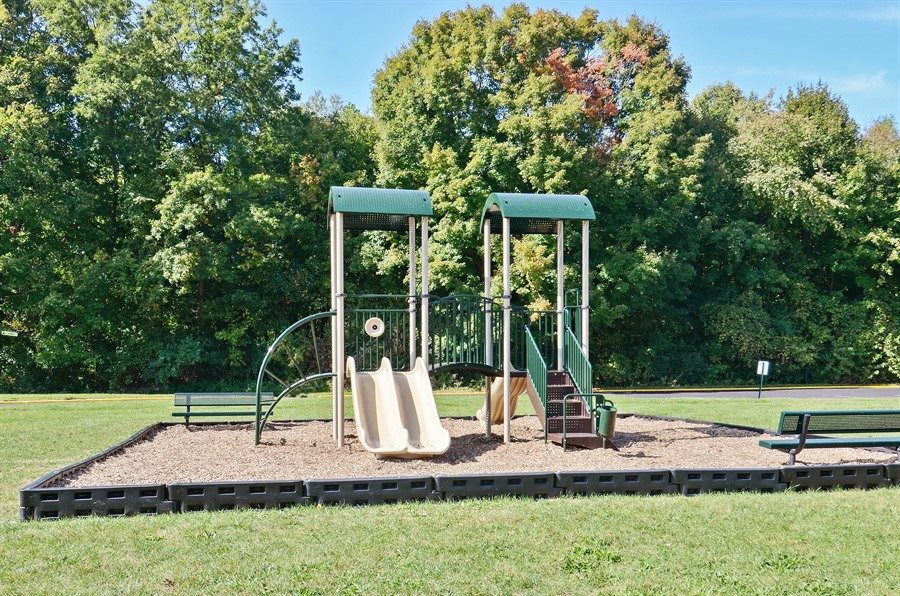 The apartments at Pangea Fields in Indianapolis feature awesome amenities like an outdoor playground!