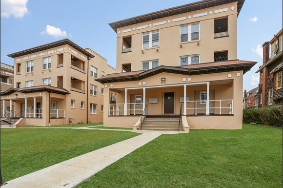 3407 Fairview Ave Apartments Baltimore Exterior