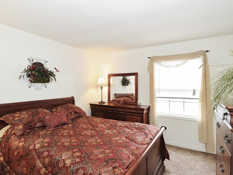 Studio, one bedroom, two bedroom, and three bedroom options available at Pangea Prairies Apartments in Indianapolis!