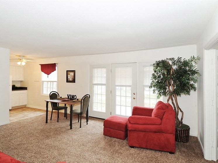 Pangea Prairies in Indianapolis offers apartments with spacious floor plans.