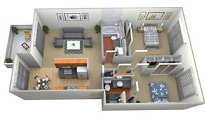 Latham Square Plan E 2Bed 2 Bath (2) rev1