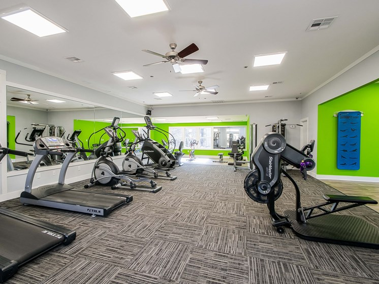 fitness center-cardio machines