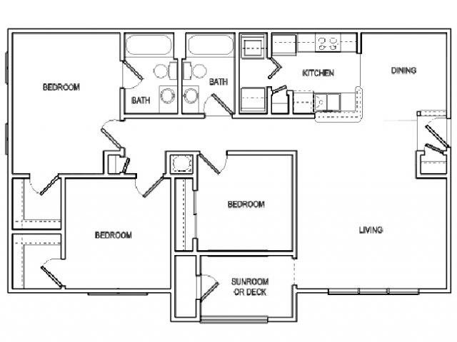 The Avery floorplan