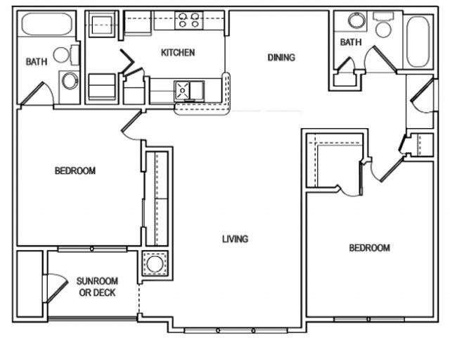 The Finley floorplan at Vista Commons