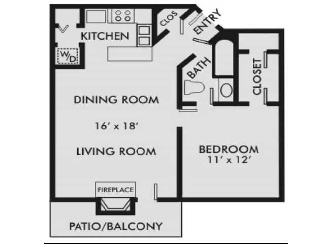 Columbiana 1-1 Floor Plan 1