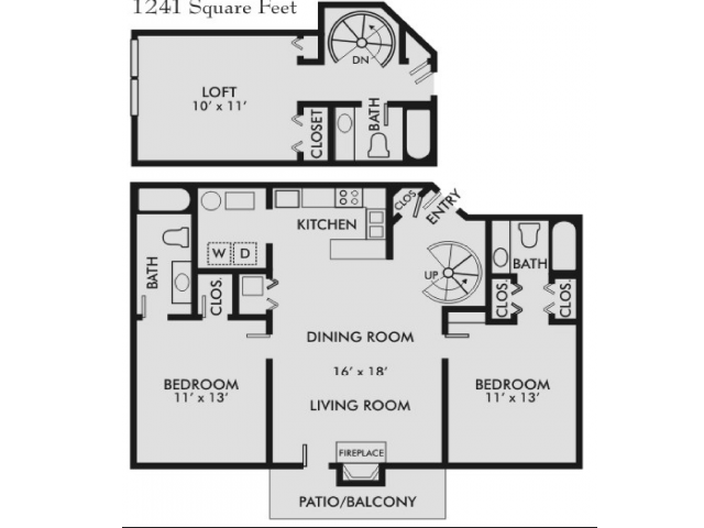 Palmetto 3-3 Floor Plan 4