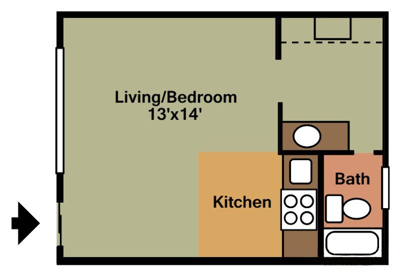 Edinboro Floor Plan 1