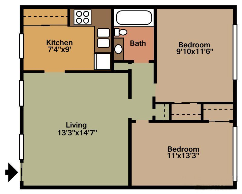 Oxford Floor Plan 4