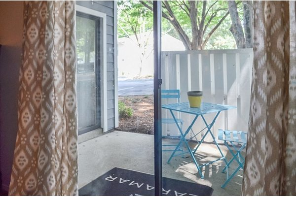 Specious Patio at Woodland Hills, 3471 North Druid Hills Road, Decatur