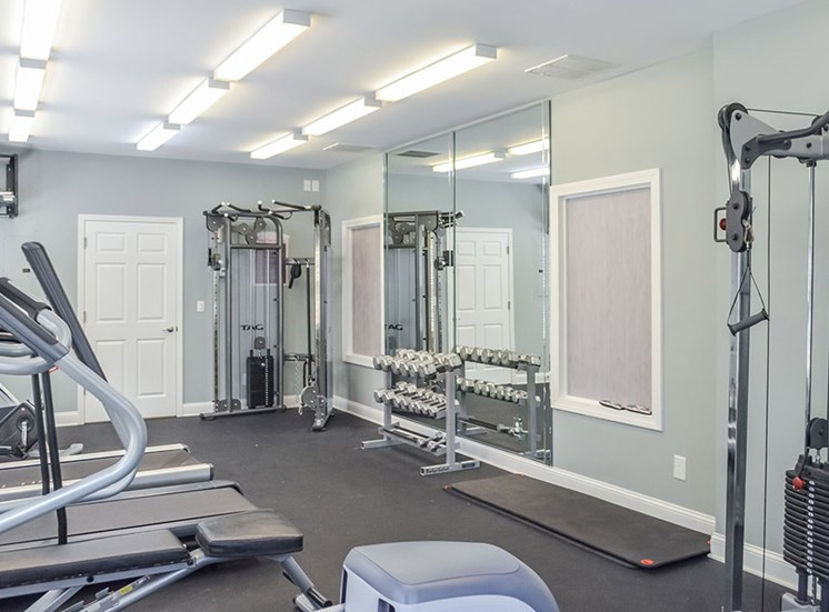 Fitness Center with Updated Equipment at Woodland Hills, Decatur, GA 30033