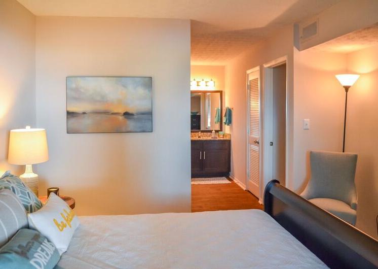 Modern Bedroom at Woodland Hills