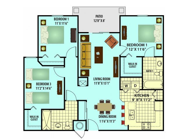 Virginia Floor Plan 4