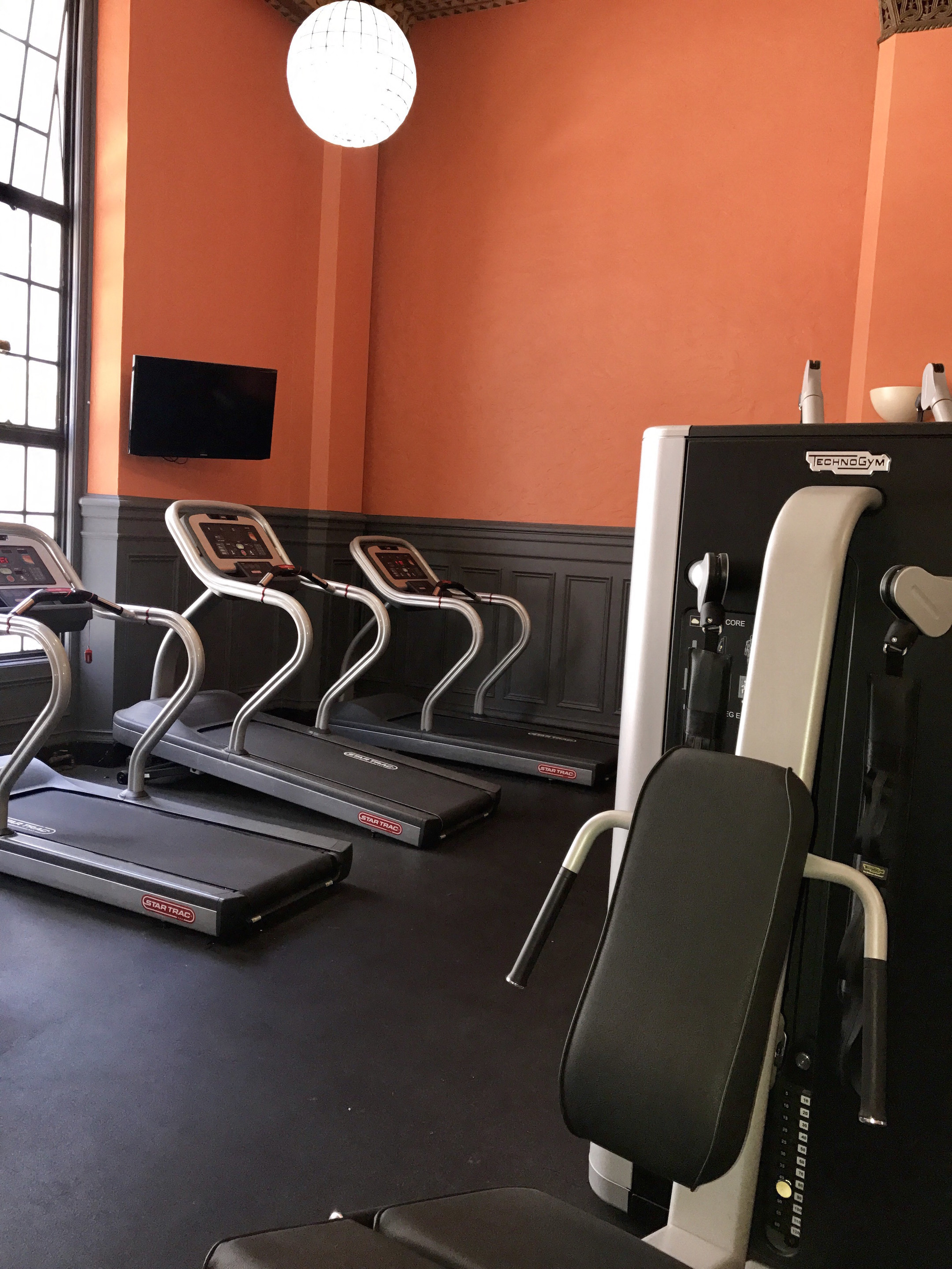 Exercise room transform your garage with custom wall storage