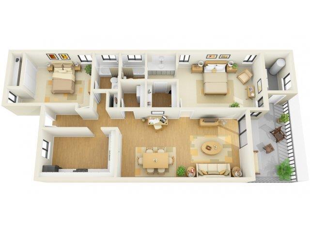 2x2D Floor Plan 6
