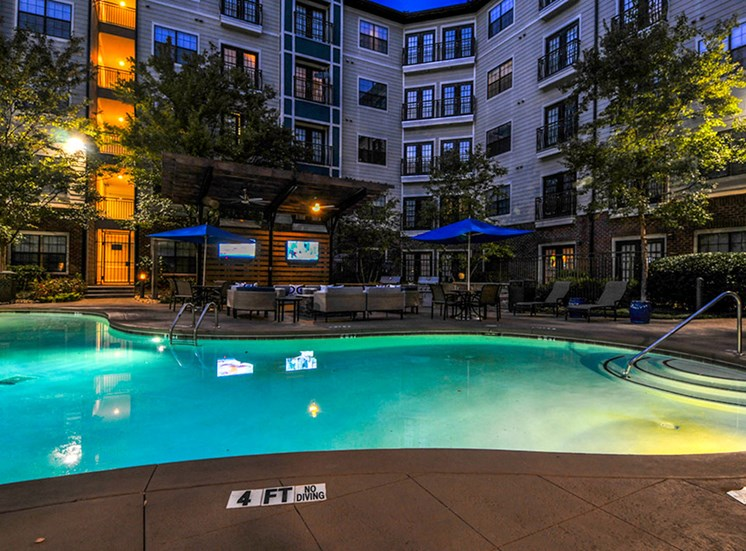 CB Lofts pool.