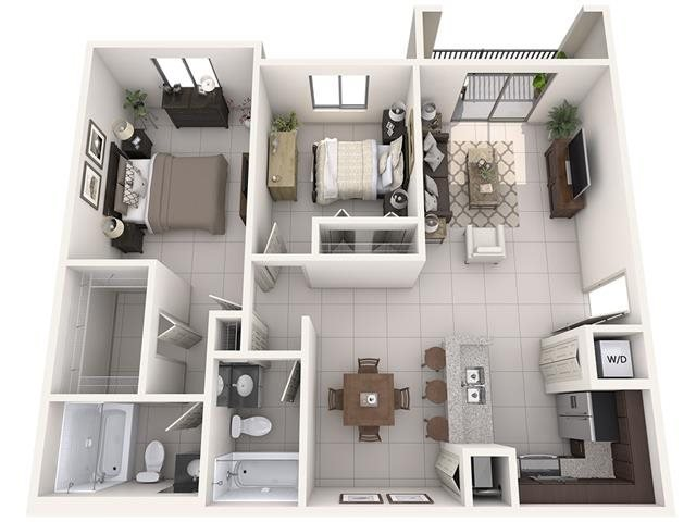 B Floor Plan 3