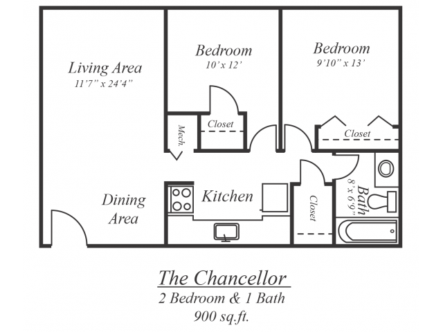 The Chancellor Floor Plan 3