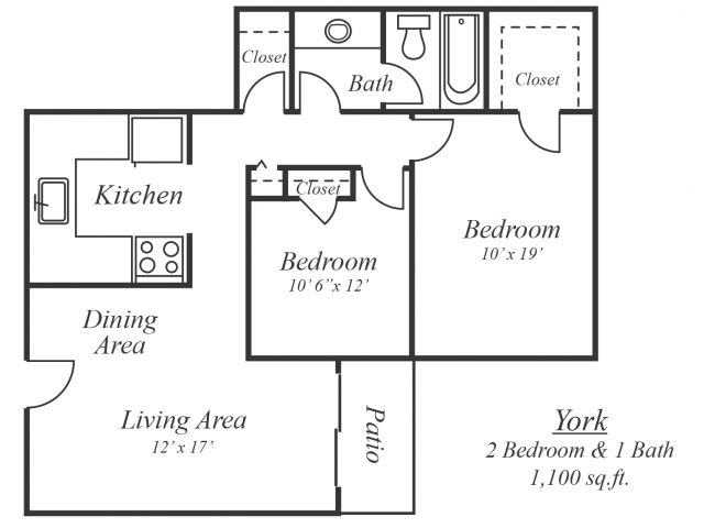 The York Floor Plan 2