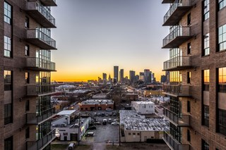 skyline view from the case building apartments