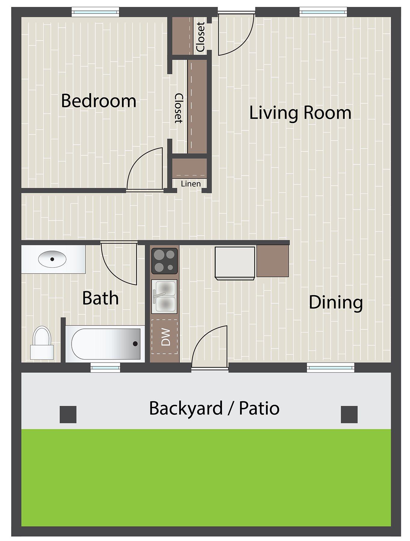 Casita Floor Plan 4