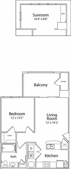 THE BERKLEY Floor Plan 3