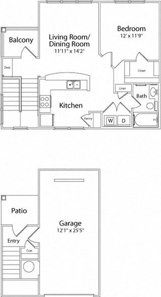 THE ELIZABETH Floor Plan 2