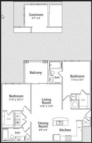 THE HAMPTON Floor Plan 5