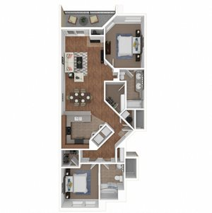 Zoom of The Malaga floor plan at Legends at Rancho Belago