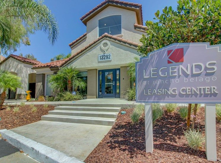 Welcome to Legends at Rancho Belago Leasing Center, Moreno Valley, CA