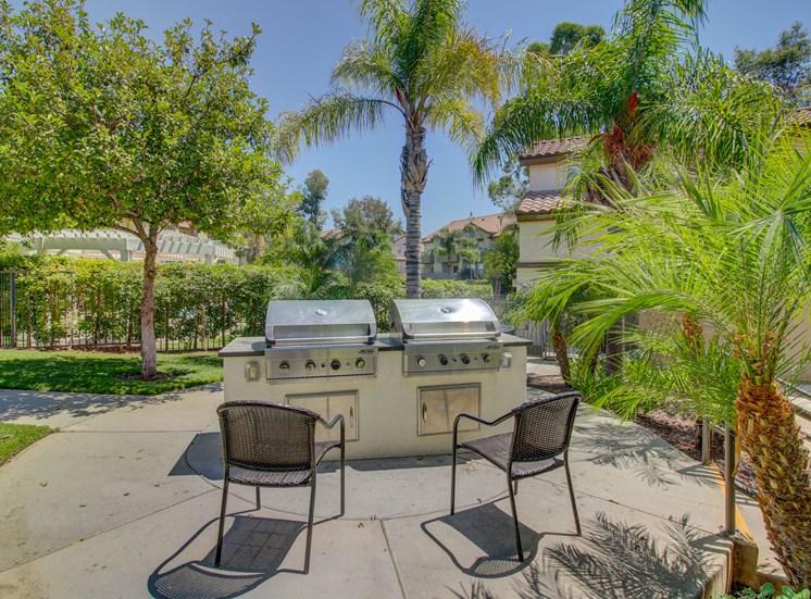 BBQ area at Legends at Rancho Belago, California, 92553