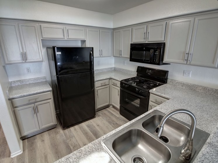 Spacious kitchen at Legends at Rancho Belago, CA 92553