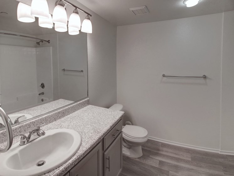 Updated bathrooms at Legends at Rancho Belago, Moreno Valley, 92553