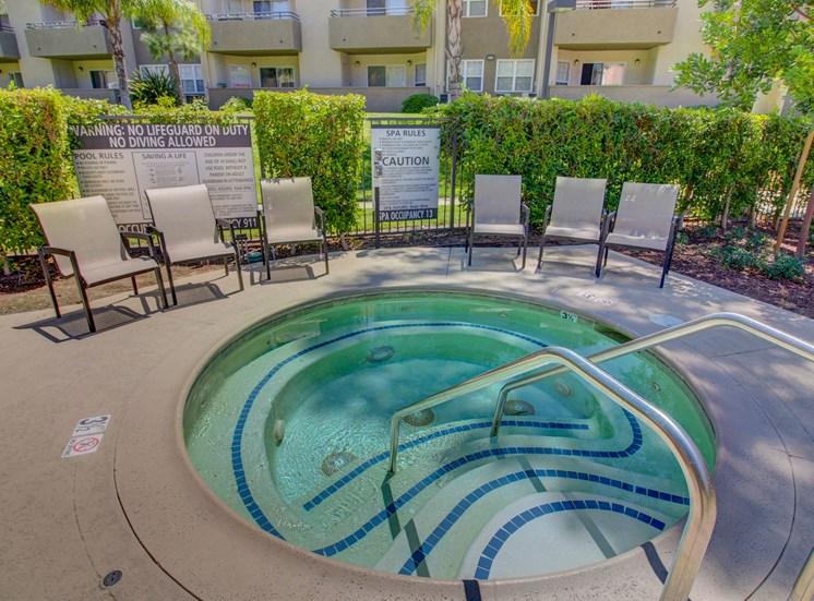 Relaxing spa at Legends at Rancho Belago, California, 92553