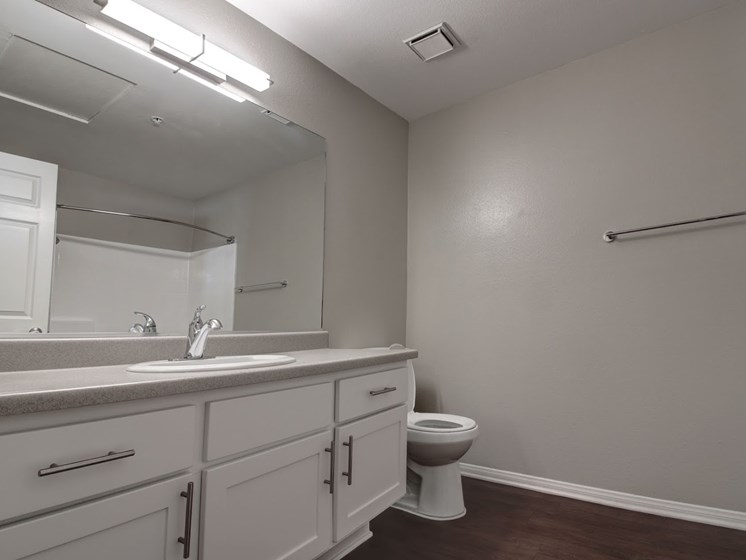 Custom bathroom finishes at Legends at Rancho Belago, CA, 92553