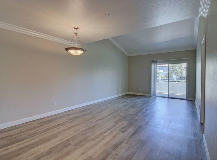 Wood style flooring at Legends at Rancho Belago, CA, 92553