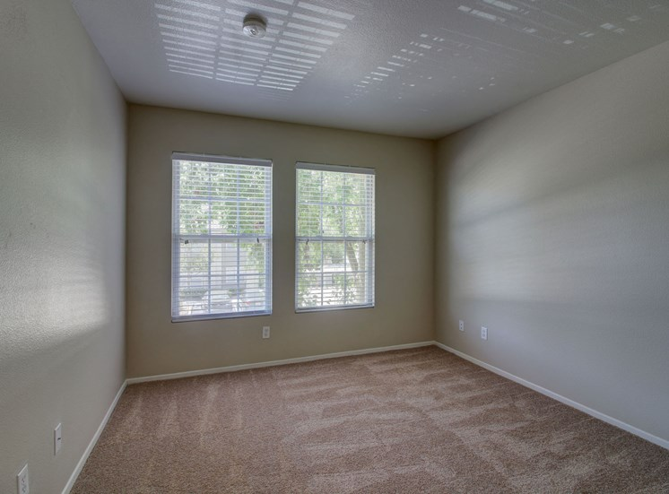 Open-feeling bedroom at Legends at Rancho Belago, Moreno Valley, California
