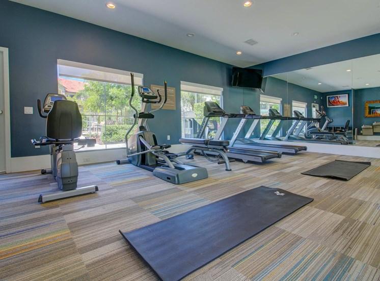Cardio equipment at Legends at Rancho Belago, Moreno Valley, CA