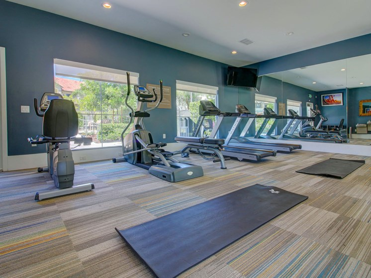 Cardio equipment at Legends at Rancho Belago, Moreno Valley, CA