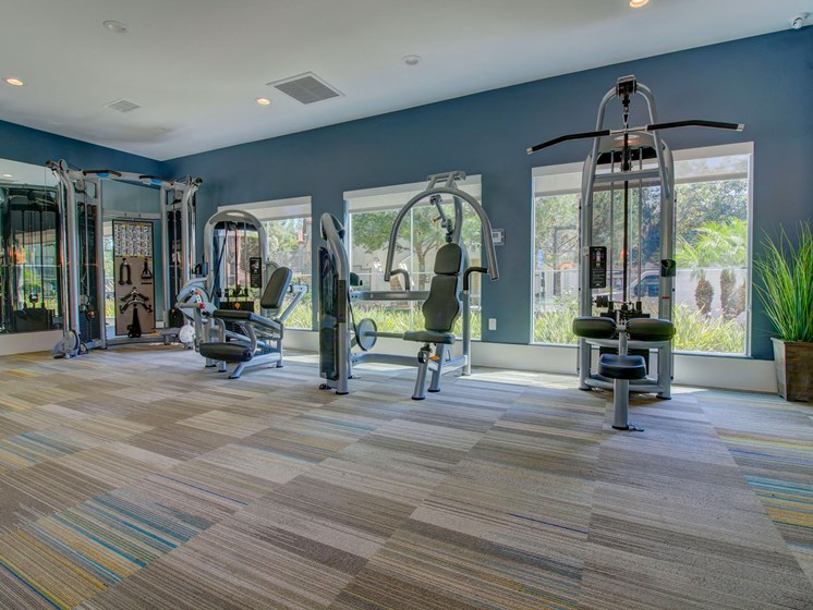 Work out room at Legends at Rancho Belago, CA 92553