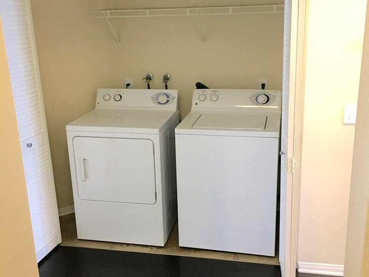 Convenient in apartment washer/dryer at Legends at Rancho Belago, Moreno Valley CA