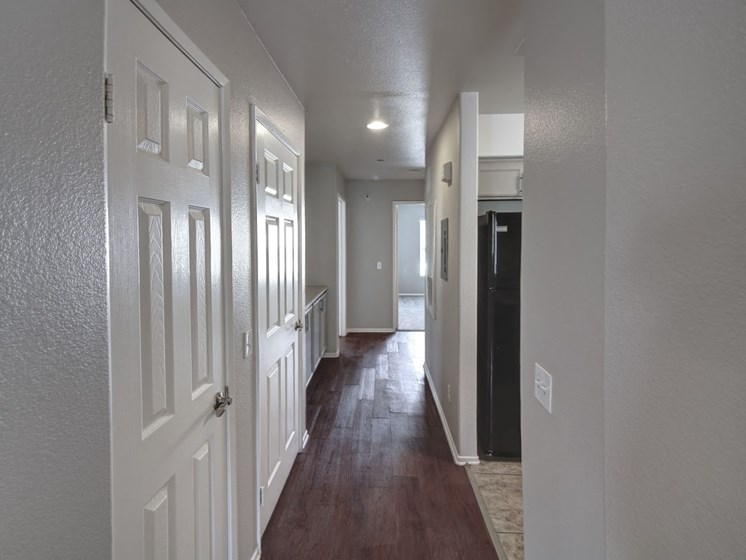 Hardwood style floors at Legends at Rancho Belago, Moreno Valley, CA